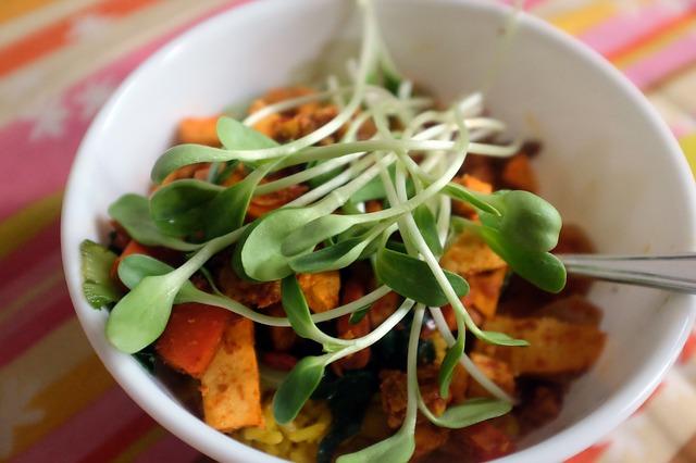 Chcete vylepšit zeleninový salát? Přidejte klíčky…